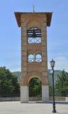 在Gracanica修道院的Belltower 免版税图库摄影