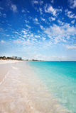Grace Bay beach in the early morning Royalty Free Stock Photo