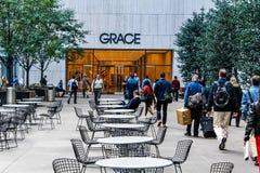 Grace Building Stock Image