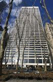 Grace building in 42 street in manhattan royalty free stock photo