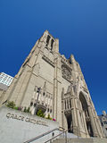 Grace Cathedral Stock Photo