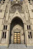 Grace Cathedral Entrance Royalty Free Stock Image