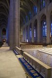 Grace Cathedral in San Francisco. Shot inside San Francisco's Grace Cathedral on Nob Hill royalty free stock image