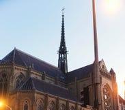 Grace Cathedral, San Francisco, Califórnia, EUA imagens de stock