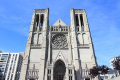 Grace Cathedral Stock Photography