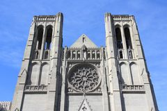 Grace Cathedral Stock Image