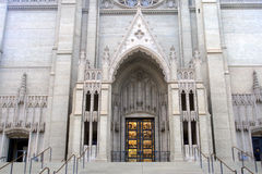 Grace Cathedral, San Francisco, Etats-Unis Images libres de droits