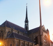 Grace Cathedral San Francisco, Kalifornien, USA Arkivbilder