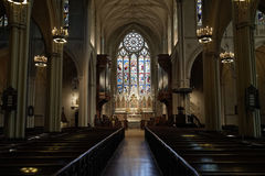 Grace Church NYC Royaltyfri Bild