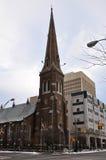Grace Church, Utica, de Staat van New York, de V.S. Stock Fotografie