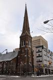 Grace Church Utica, New York stat, USA Arkivbild