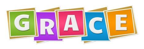Grace Colorful Blocks royalty illustrazione gratis