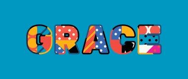 Grace Concept Word Art Illustration stock illustratie