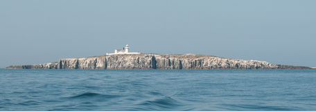 Grace Darling lighthouse on the Farne Islands Royalty Free Stock Photos