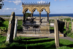 Grace Darling Memorial. In Bamburgh Church Northumberland stock images