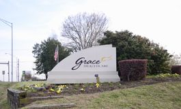 Grace Healthcare, Cordova, TN. Grace Healthcare of Cordova provides skilled nursing care, rehabilitation, and Alzheimer`s and dementia care in Cordova, TN just Stock Photography