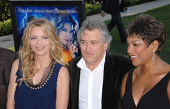 Grace Hightower, Michelle Pfeiffer, Robert De Niro Stock Images