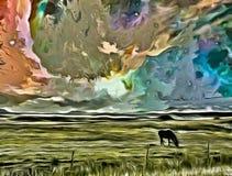 Grace Horse vector illustratie