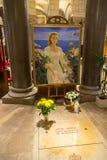 Grace Kelly grobowiec Zdjęcia Royalty Free