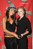 Grace Park,Katee Sackhoff Stock Photos