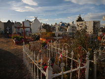 Grace in punta arenas cemetery Stock Image