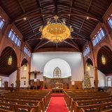 Grace United Methodist Church fotografía de archivo libre de regalías