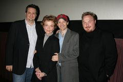 Grace Zabriskie. Craig Carlisle and Grace Zabriskie with Michael Leydon Campbell and Keith Kjarval at the Los Angeles Premiere Of 'Bob Funk'. Laemmle's Sunset 5 Stock Image