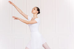Graceful ballerina. Royalty Free Stock Photography