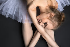 Graceful ballerina Stock Photo