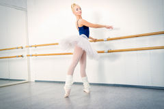 Graceful ballet dancer Stock Image
