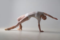Graceful ballet dancer Stock Photography