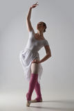 Graceful ballet dancer posing Stock Images