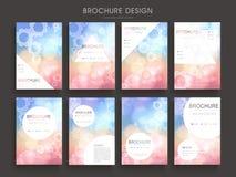 Graceful brochure template Stock Image