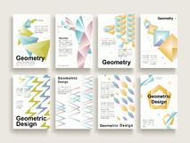 Graceful brochure template Royalty Free Stock Images