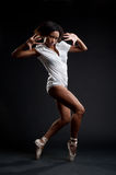 Graceful dancer Stock Images