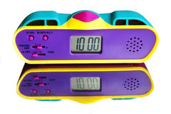 Hours alarm clocks Stock Photos