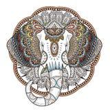 Graceful elephant Stock Photography