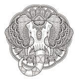 Graceful elephant Royalty Free Stock Image