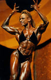 Graceful Female Bodybuilder Stock Images