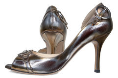 Graceful female shoes Royalty Free Stock Photos
