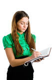 Graceful female student Royalty Free Stock Image
