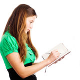 Graceful female student Royalty Free Stock Photography