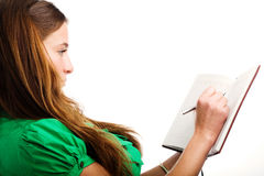 Graceful female student Stock Image