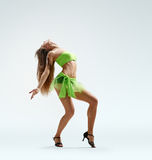 Graceful girl dance Royalty Free Stock Photos