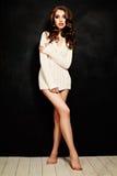 Graceful Girl. Fashion Woman. Beautiful Body Royalty Free Stock Image