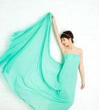 The graceful girl. In the Greek style Royalty Free Stock Photos