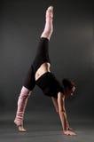 Graceful gymnast Royalty Free Stock Image