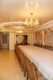 Graceful interior in restaurant Banquet hall in Chernihiv Stock Photos
