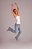 Graceful jump Royalty Free Stock Photography