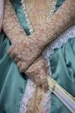 Graceful lady hands Stock Photos